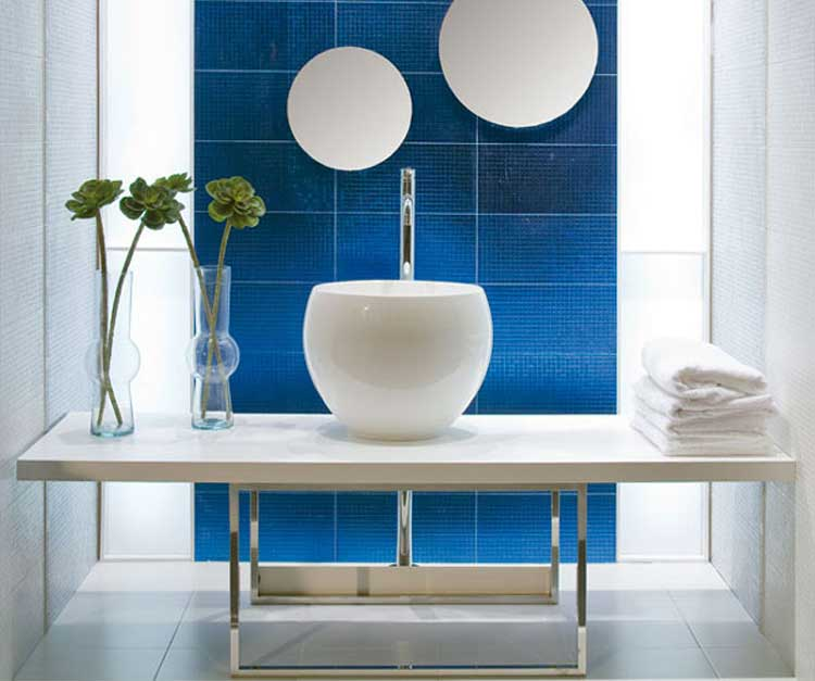 Bathed in Color When to Use Blue in the Bath  Houzz