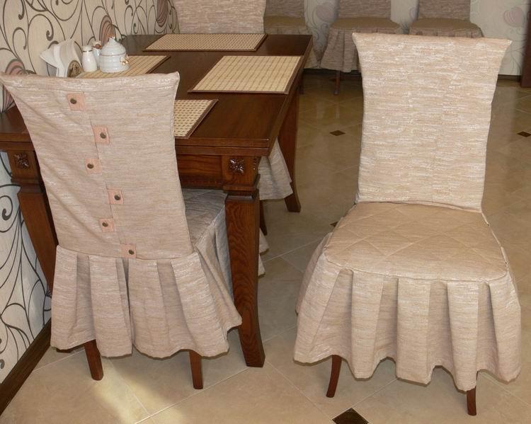 Как сшить чехлы для венских стульев