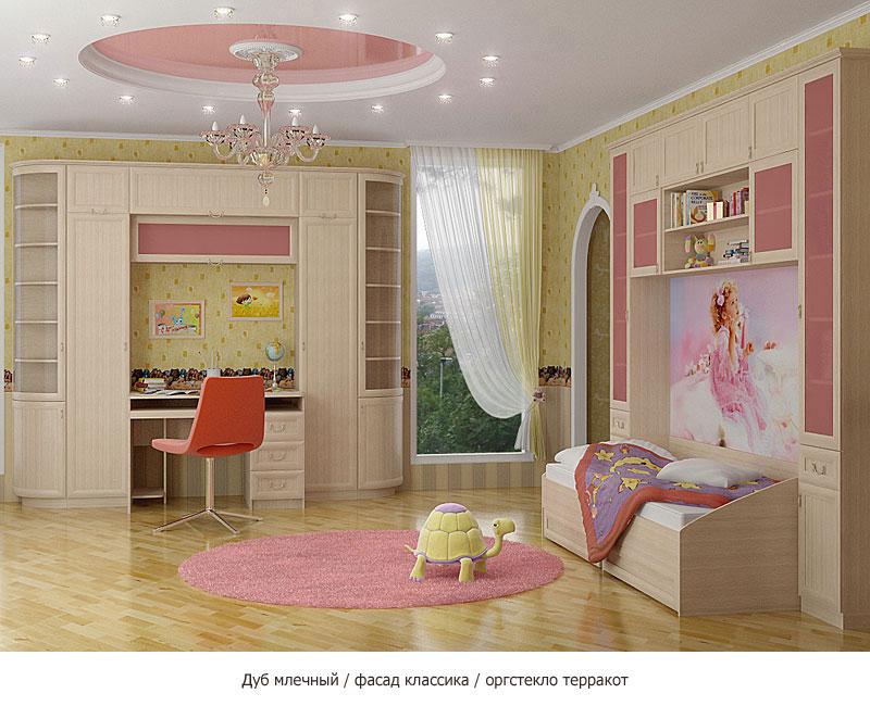 Для принцессы дизайн детской комнаты