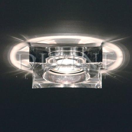 потолочные светильники встроенные фото