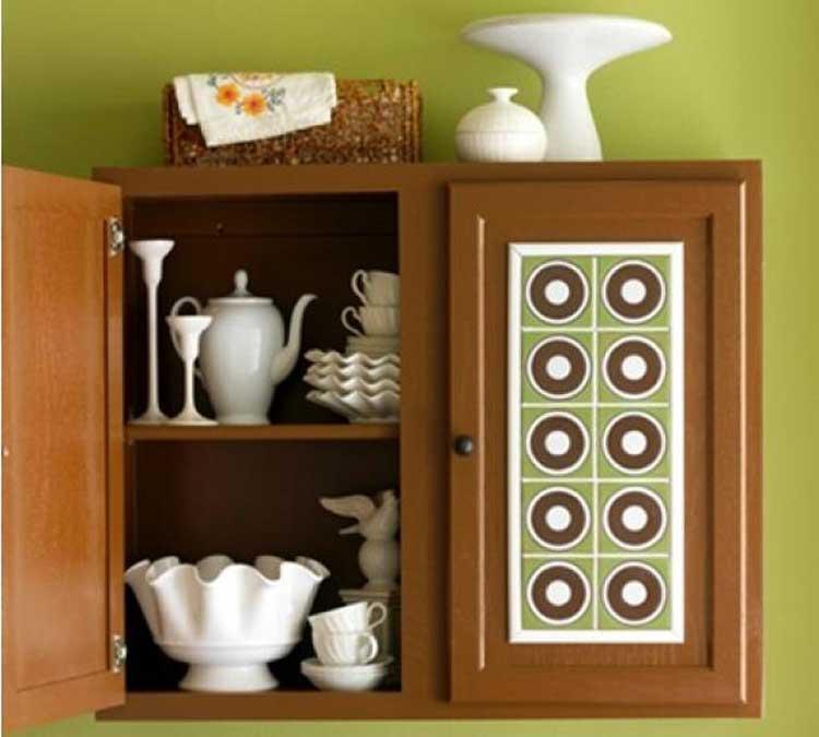 Декор для шкафа своими руками фото