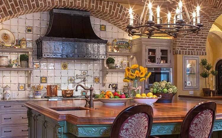 Kuche dekoration landhausstil