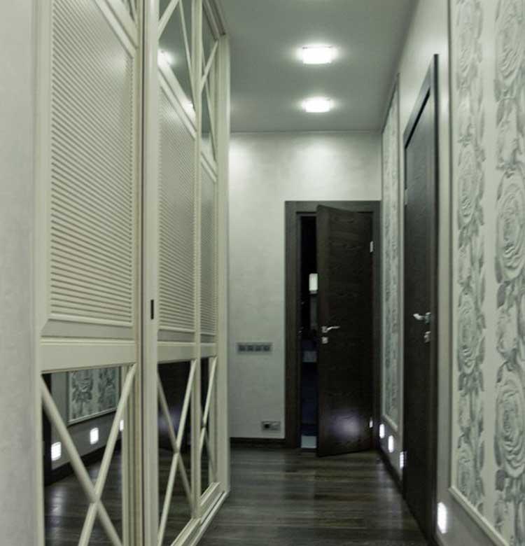 Дизайн узкого коридора или узкой прихожей.