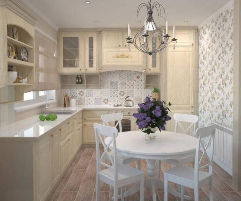 дизайн кухни в стиле прованс особенности оформления идеи и фото
