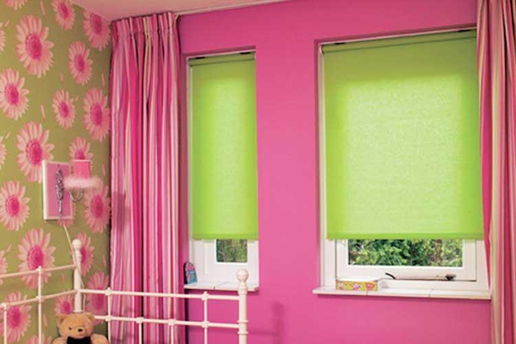 В оформлении штор для детской комнаты