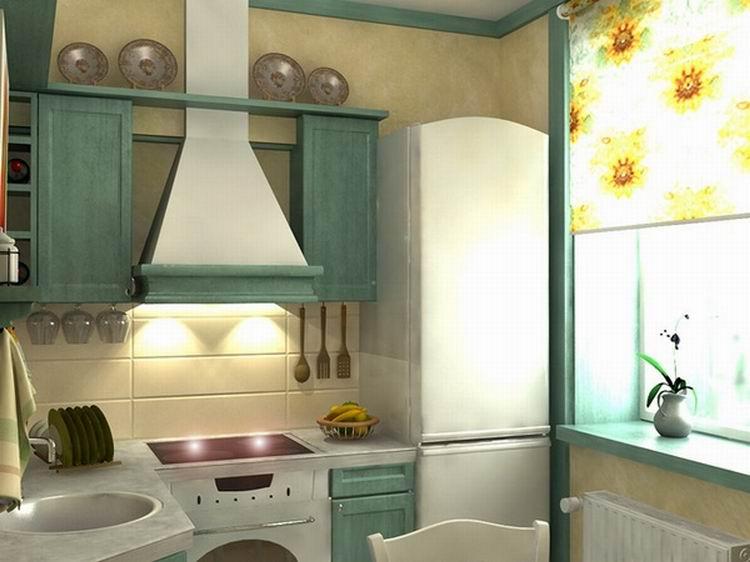 Ремонт кухни в брежневке фото