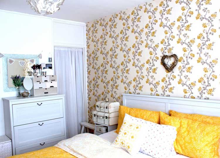 Модные обои для спальни фото дизайн и