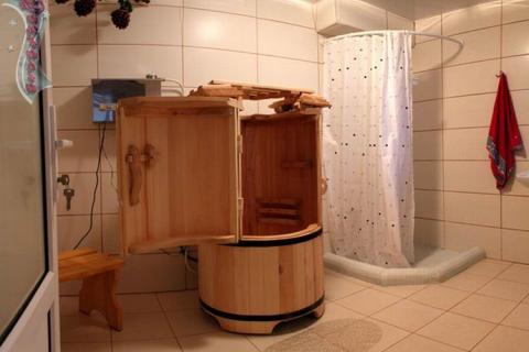 Сауна-бочка в ванной