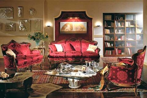 диваны и кресла в стиле барокко