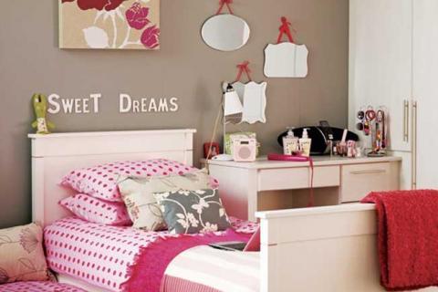 комната с зеркалами для девочки