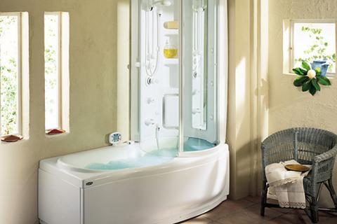 ванная-душ два в одном