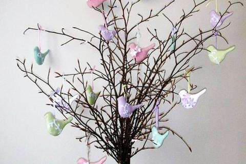 Деревце с птичками