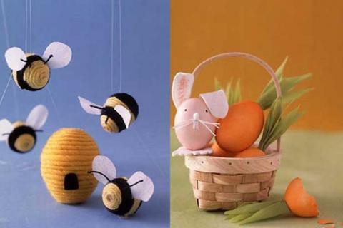 забавный декор яиц