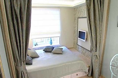 спальная зона подиуме