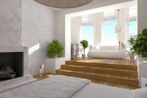 диван на подиуме