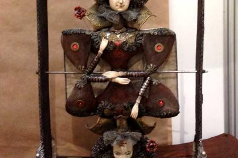 кукла карточной королевы