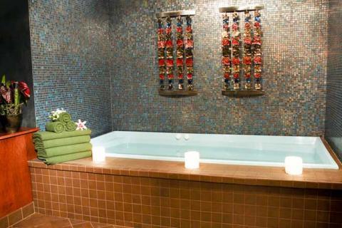 плитка-мозаика в ванной