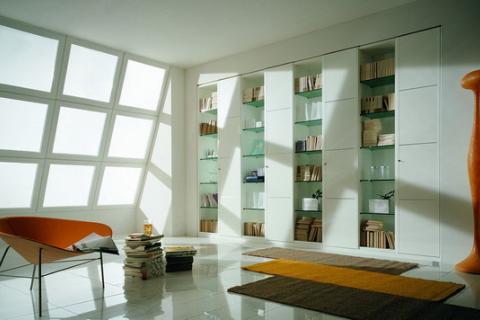 кабинет в стиле модерн