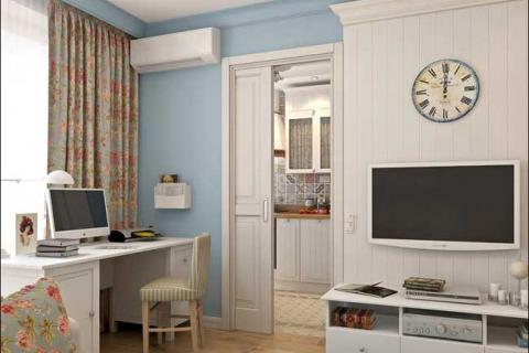 декор квартиры-хрущевки в классическом стиле