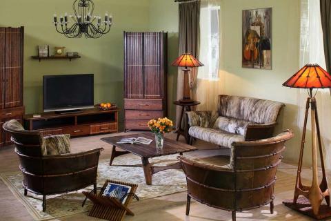 гостиная в колониальном стиле