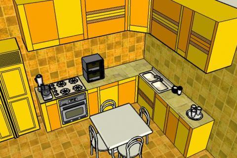 г-образная планировка кухни