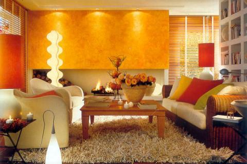подсветка зоны гостиной
