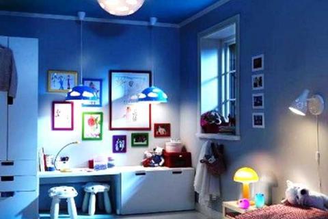 потолочный светильник в детской