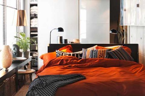 дизайн маленькой спальни современного стиля