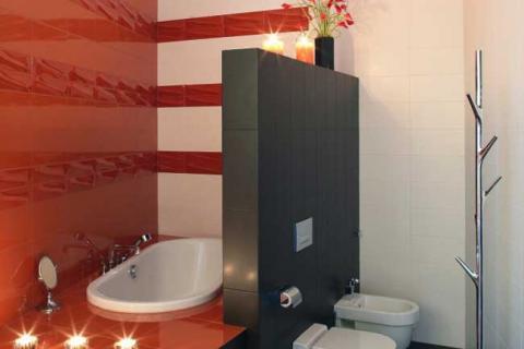 перегородка между ванной и унитазом