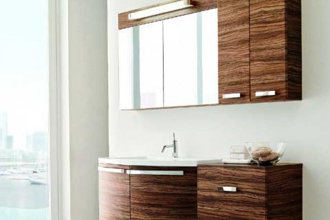 мебель для ванной под бразильский орех