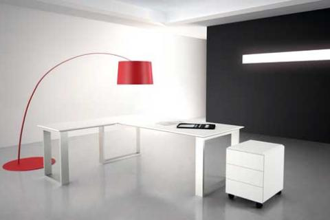 белая мебель в стиле минимализм