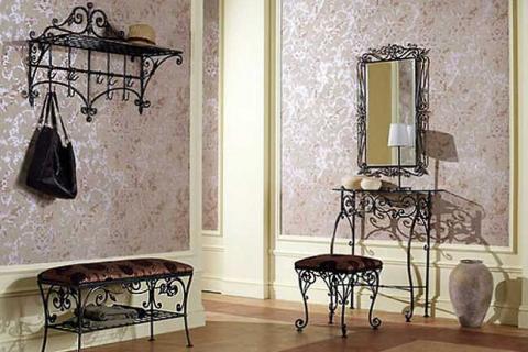 мебель для прихожей из металла
