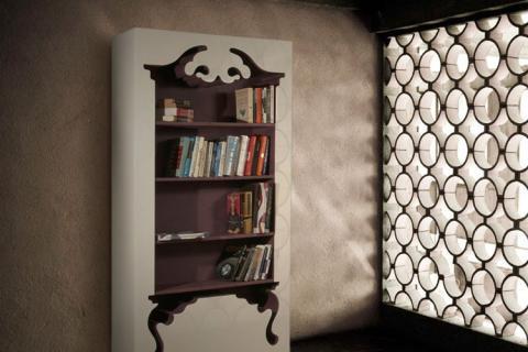 шкаф с элементами стиля барокко