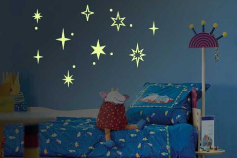Светящиеся наклейки для детской
