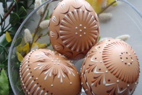 Идеи пасхальной росписи яиц