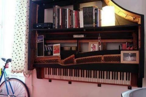 полки из рояля