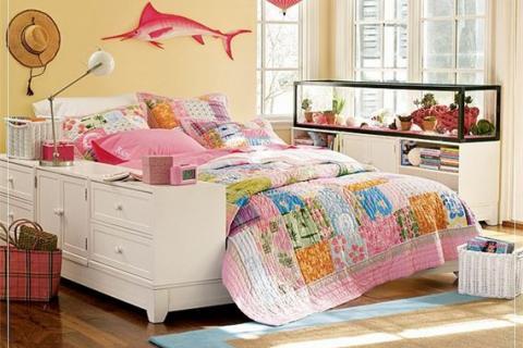 комната для подростка с морскими мотивами