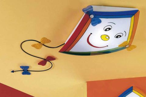 потолочныq светильник в виде воздушного змея