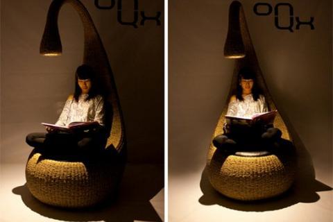 кресло-светильник