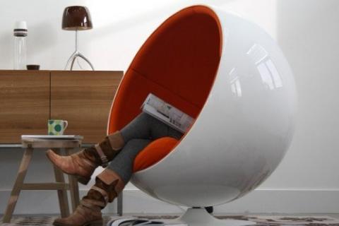 кресло-шар