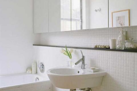шкаф-зеркало в ванной