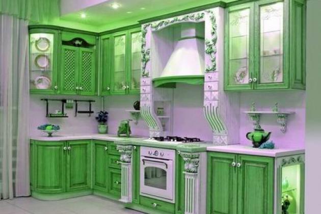 Дизайн кухонных шкафов