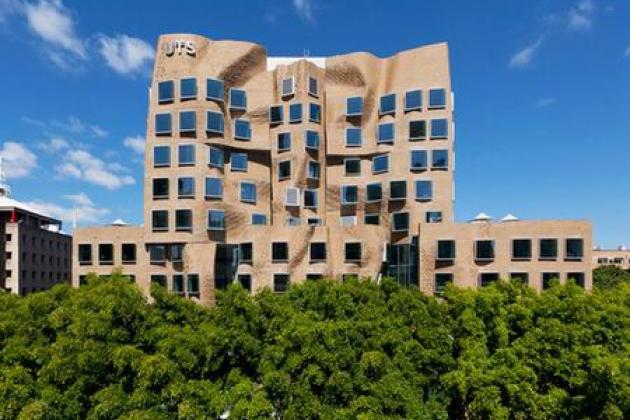 Новый корпус университета в Сиднее