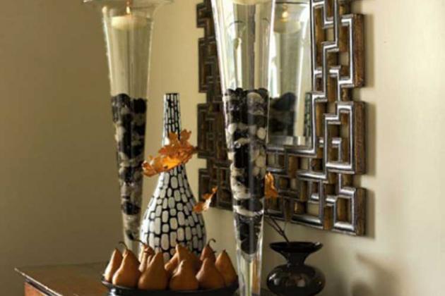 Свечи в декорировании интерьера