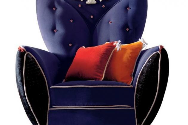 гламурное кресло
