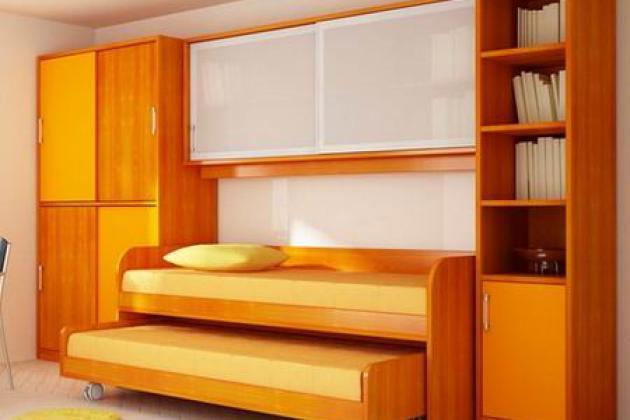Эргономичная мебель для маленьких квартир