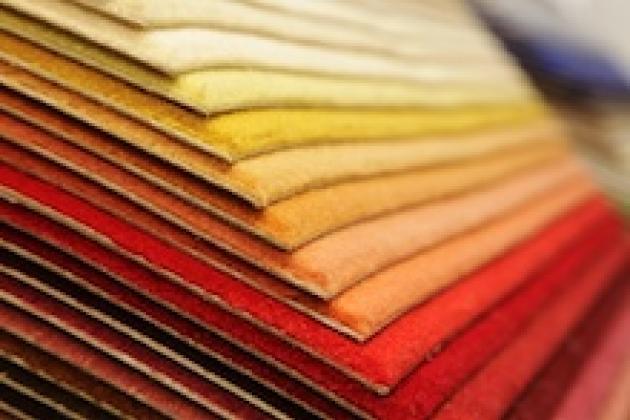 текстиль разных оттенков