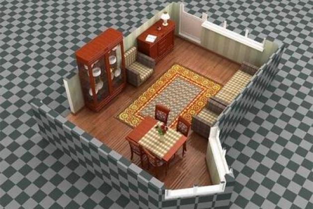 Расстановка мебели он-лайн