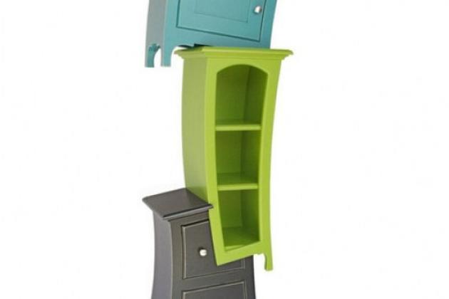 дизайнерские детские шкафчики