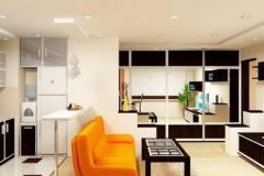 кухня-гостиная на 30 квадратах